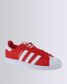 adidas Superstar Leather Sneaker Red