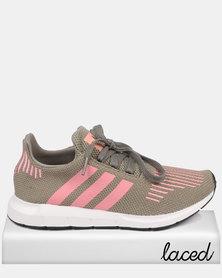 adidas Swift Run W Cargo Green/ Pink