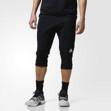Cross-Up Three-Quarter Pants