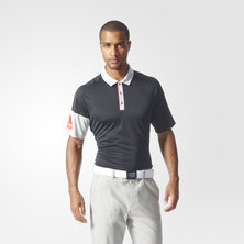 climacool sleeve blocked polo