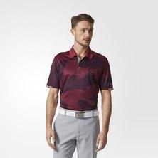 Climachill Herringbone Camo Polo Shirt