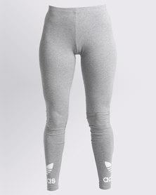 adidas Ladies Trefoil Leggings Grey
