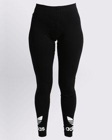 adidas Ladies Trefoil Leggings Black
