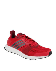adidas Performance Ultra Boost ST Mens Red