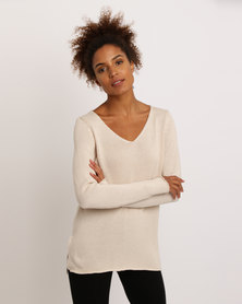 All About Eve Traveller Knit Top Beige