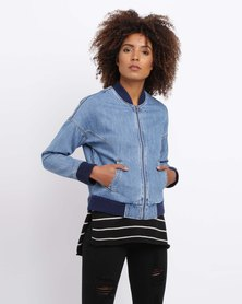 All About Eve Zeggie Bomber Blue