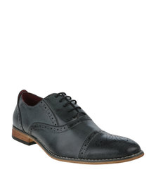 Anton Fabi Adria Formal Lace Up Shoe Grey