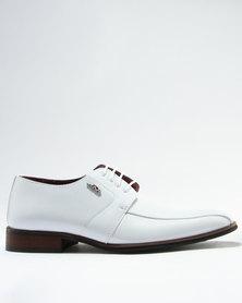 Anton Fabi Medo Formal Lace Up Shoe White