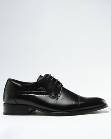 Anton Fabi Vietto Formal Lace Up Shoe Black