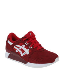 Asics Tiger Gel-Lyte III Sneaker Red
