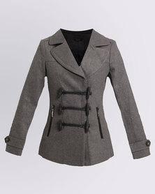 Assuili Copa Short Coat Grey