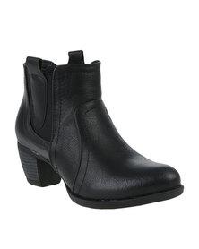 Awol Gusset Boot Black