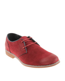 Bata Formal Lace-Up Shoe Red