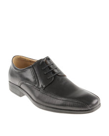 Bata Formal Panelled Shoe Black