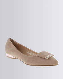 Bata Wicky Flats Taupe