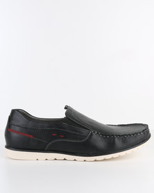 Bata Men's Slip-On Shoe Black