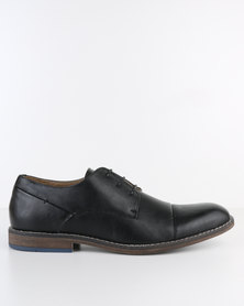 Bata PU Lace-Up Shoe Black