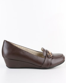 Bata Comfit Bunny with Detail Brown