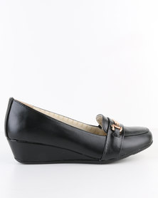 Bata Comfit Bunny with Detail Black