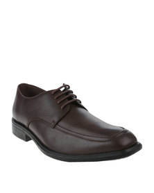 Bata Mens Dress Lace Up Brown