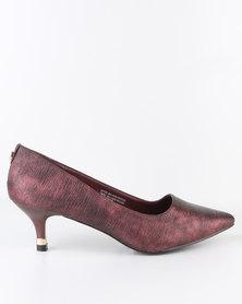 Bata Insolia Fame Shoes Maroon