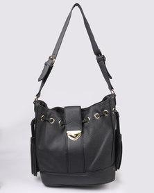 Bata Ladies Bucket Bag Black