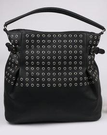 Bata Ladies Casual Hobo Bag Black