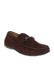 Bata Casual Mens Slip On Brown