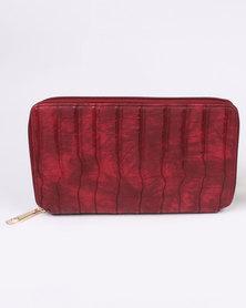 Bata Ladies Purse Red