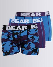 Bear Camo Print Bodyshort Multi