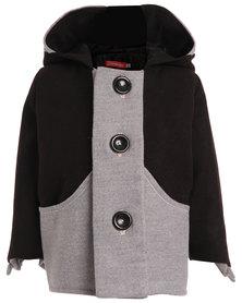 Benjamin Brat Ben Wolf Coat Black