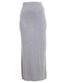 Betty Basics Byron Maxi Skirt Grey