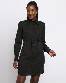 BiBi Rouge Olivia Shirt Dress Black