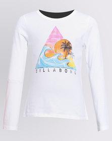 Billabong Surf Series L/S Tee White