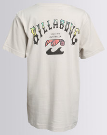 Billabong Boardarch Reprise SS Tee Grey