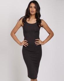 Billabong Tide Lines Midi Dress Black