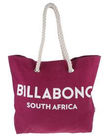 Billabong Essential Beach Bag Plum
