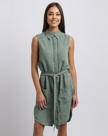 Billabong Mission Dress Green