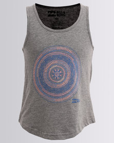 Billabong Majestic Teens Singlet Grey