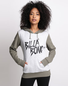 Billabong Nailed It Contrast Hood Grey