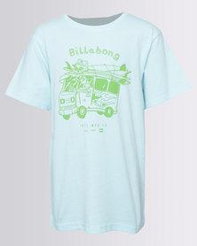 Billabong Boys Combi YO SS Tee Green