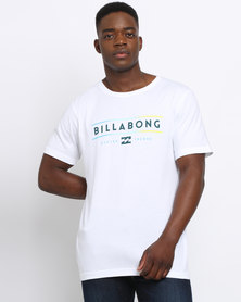 Billabong Unity Tripper Short Sleeve Tee White