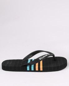 Billabong Spinner Flip Flops Black