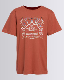 Billabong Voodoo S/S Tee Red