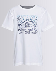 Billabong Voodoo S/S Tee White