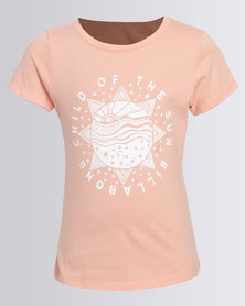 Billabong Child Of The Sun Teens Tee Coral