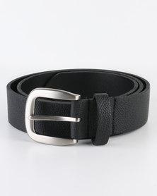Black Lemon Belt PU Black