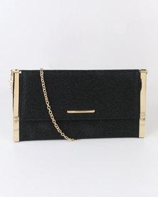 Blackcherry Bag Glam Clutch Bag Black