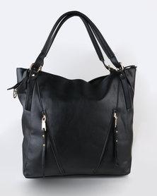 Blackcherry Bag Smart Shopper Bag Black