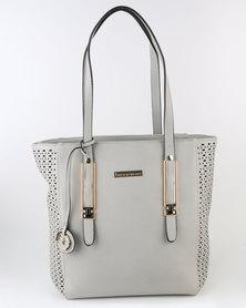 Blackcherry Bag Structured Tote Bag Grey